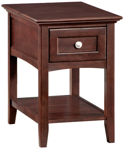 Whittier Wood Furniture - McKenzie Chairside Table - 3500CAF