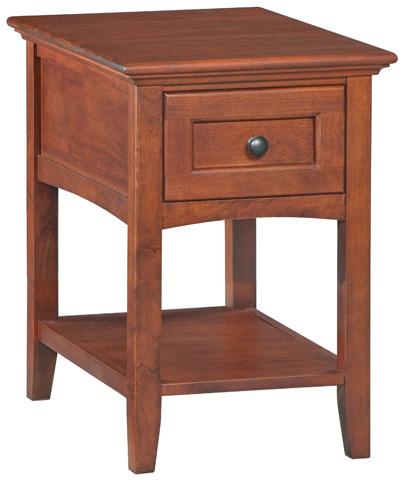 Whittier Wood Furniture - McKenzie Chairside Table - 3500GAC