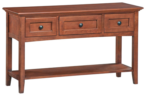 Whittier Wood Furniture - McKenzie Sofa Table - 3503GAC