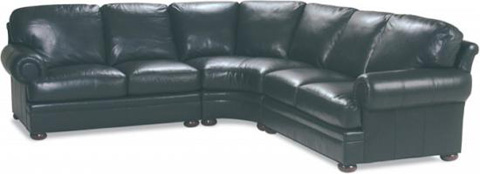 Whittemore Sherrill - Leather Sectional - 748-32