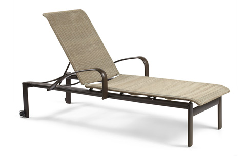 Winston Furniture Company, Inc - Arm Stack Chaise with Skate Wheels - M79009