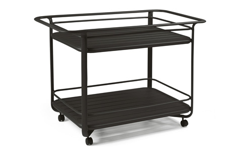 Winston Furniture Company, Inc - Serving Cart with Extruded Shelves - M9020