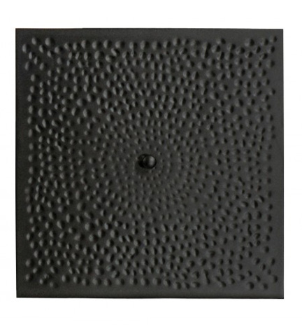 Woodard Company - Hammered Replacement Square Fire Pit Burner Cover - 05312