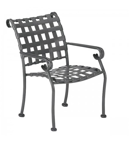 Woodard Company - Ramsgate Strap Dining Arm Chair - 160417