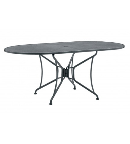 Woodard Company - Premium Mesh Oval Dining Table - 190306