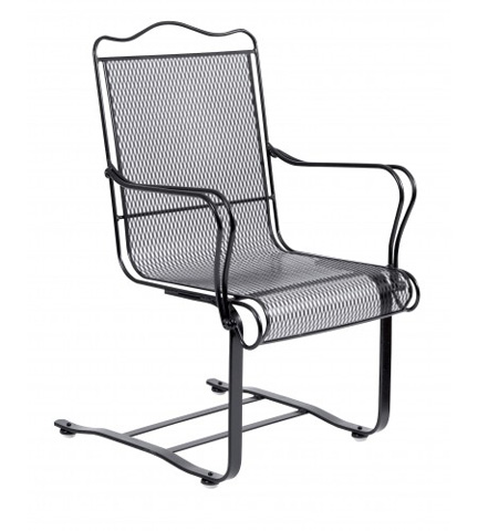 Woodard Company - Tucson High-Back Spring Base Chair - 1G0018