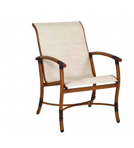 Woodard Company - Glade Isle Sling Dining Arm Chair - 1Q0401