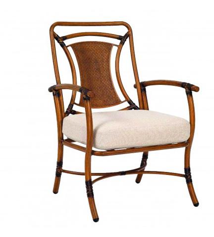 Woodard Company - Glade Isle Cushion Formal Dining Arm Chair - 1T0601