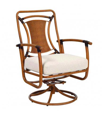 Woodard Company - Glade Isle Cushion Swivel Rocker Arm Chair - 1T0672
