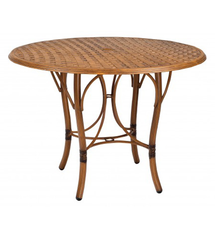 Woodard Company - Glade Isle Round Counter Height Table - 1T55BT