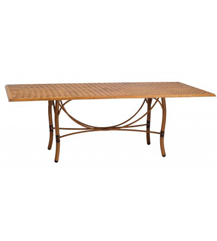 Woodard Company - Glade Isle Rectangular Dining Table - 1T72BT