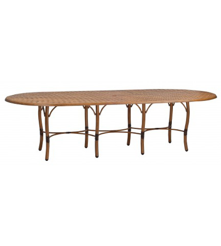 Woodard Company - Glade Isle Large Dining Table - 1T84BT