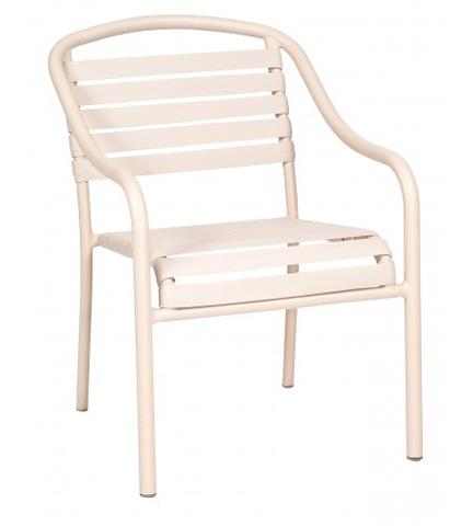 Woodard Company - Baja Strap Dining Arm Chair - 23001N