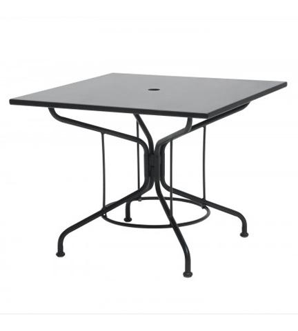Woodard Company - Mercury Square Mesh Top Umbrella Table - 280052.92