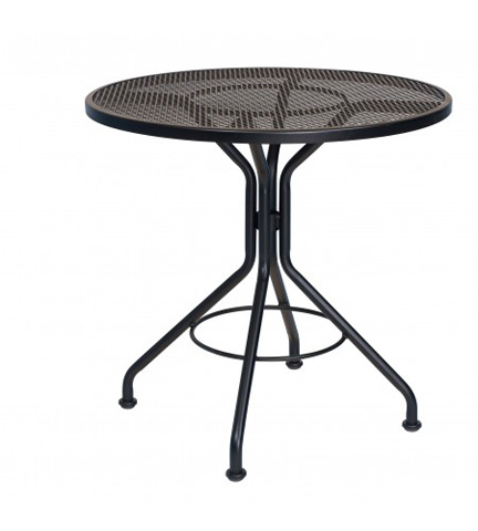 Woodard Company - Mesh Round Bistro Umbrella Table with Base - 280135