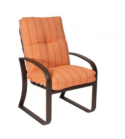 Woodard Company - Cayman Isle Cushion Dining Arm Chair - 2E0425