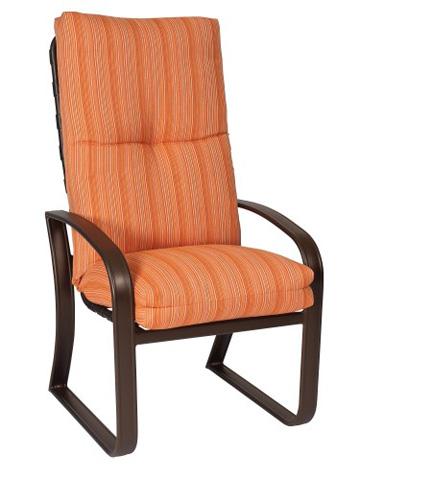 Woodard Company - Cayman Isle Cushion High-Back Dining Arm Chair - 2E0426