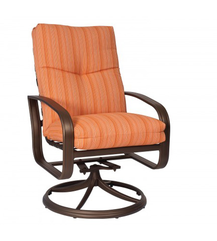 Woodard Company - Cayman Isle Cushion Swivel Rocker - 2E0466