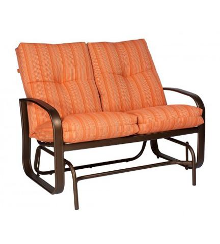 Woodard Company - Cayman Isle Cushion Gliding Loveseat - 2E0473