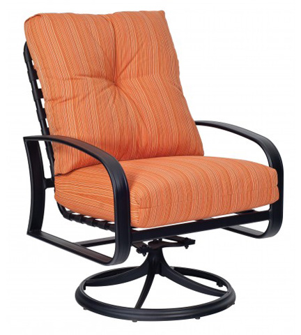 Woodard Company - Cayman Isle Cushion Swivel Rocking Lounge Chair - 2E0477