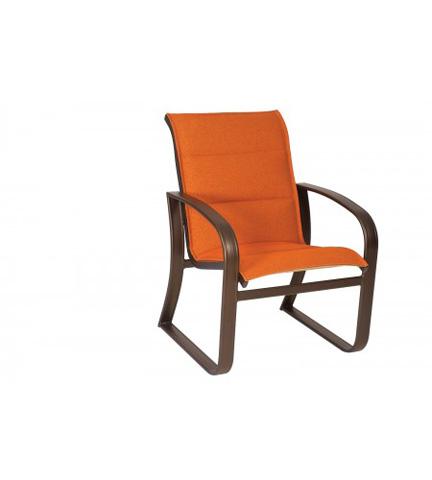 Woodard Company - Cayman Isle Padded Sling Dining Arm Chair - 2FH501