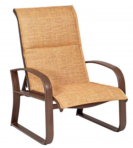 Woodard Company - Cayman Isle Padded Sling Adjustable Lounge Chair - 2FH535