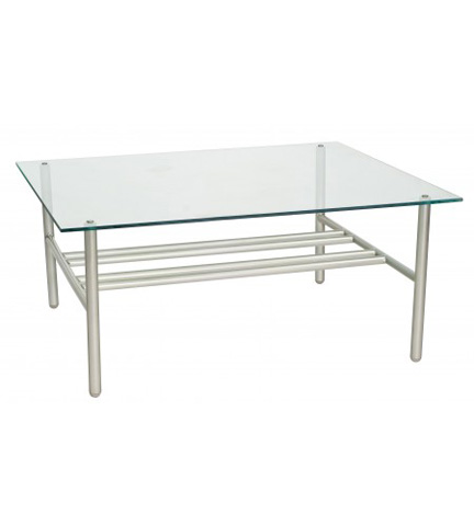 Woodard Company - Uptown Glass Top Coffee Table - 2H0043