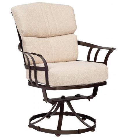 Woodard Company - Atlas Swivel Dining Arm Chair - 2L0072
