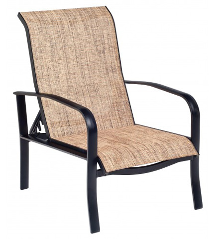 Woodard Company - Fremont Sling Adjustable Lounge Chair - 2P0435