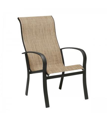 Woodard Company - Fremont Sling High-Back Dining Arm Chair - 2PH426