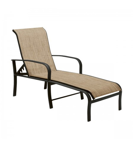 Woodard Company - Fremont Sling Adjustable Chaise Lounge - 2PH470