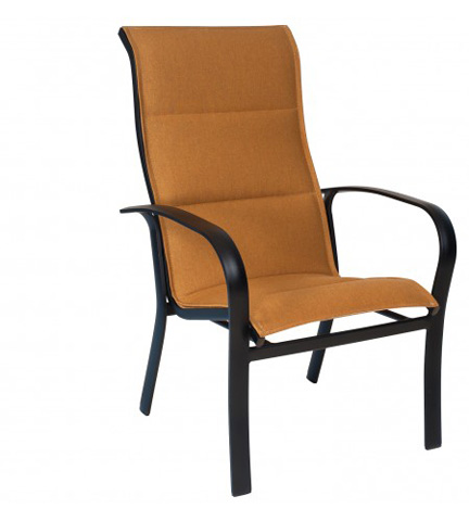 Woodard Company - Fremont Padded Sling High-Back Dining Arm Chair - 2PH526