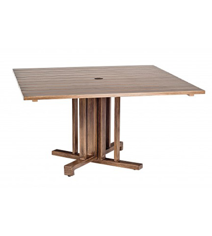 Woodard Company - Woodlands Square Dining Table - 2Q48BT