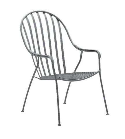 Woodard Company - Valencia High-Back Barrel Chair - 310006