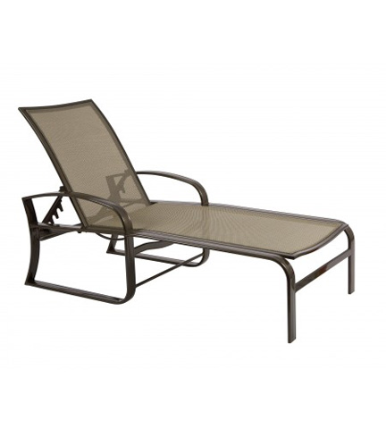 Woodard Company - Cayman Isle Flex Adjustable Chaise Lounge - 3N0470
