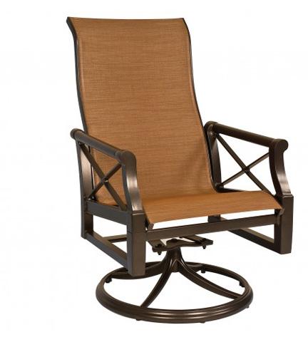 Woodard Company - Andover Sling High-Back Swivel Rocker - 3Q0466