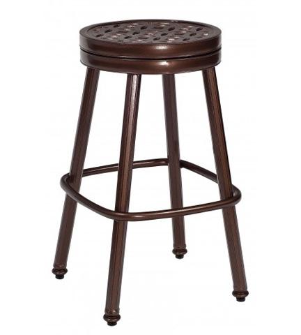 Woodard Company - Casa Round Swivel Barstool - 3Y0668
