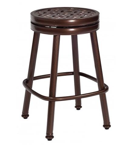 Woodard Company - Casa Round Swivel Counter Stool - 3Y0669