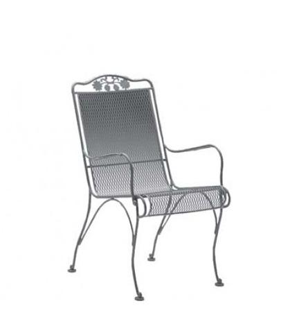 Woodard Company - Briarwood High-Back Dining Arm Chair - 400001