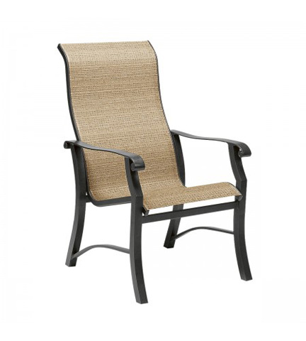 Image of Cortland Sling High-Back Dining Arm Chair