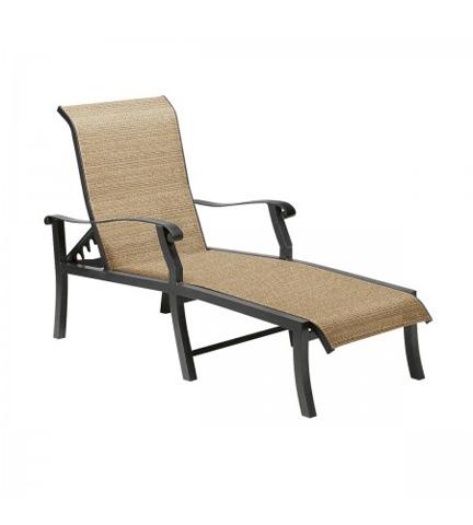 Woodard Company - Cortland Sling Adjustable Chaise Lounge - 42H470