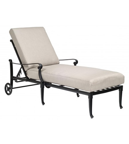 Woodard Company - Wiltshire Adjustable Chaise Lounge - 4Q0470