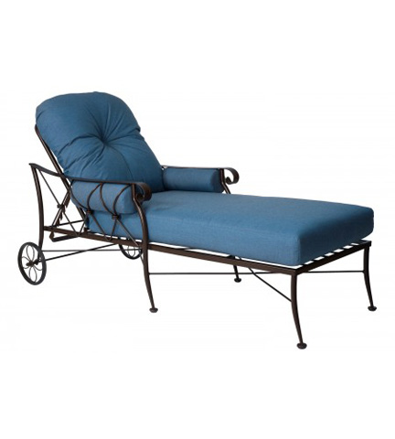 Woodard Company - Derby Adjustable Chaise Lounge - 4T0070
