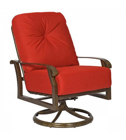 Image of Cortland Cushion Swivel Rocking Lounge Chair