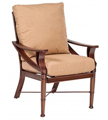 Woodard Company - Arkadia Cushion Dining Arm Chair - 590401