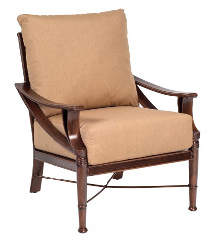 Woodard Company - Arkadia Cushion Stationary Lounge Chair - 590406