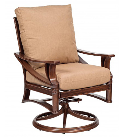 Woodard Company - Arkadia Cushion Swivel Rocker - 590472
