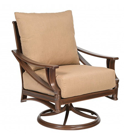 Woodard Company - Arkadia Cushion Swivel Rocking Lounge Chair - 590477