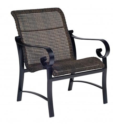 Woodard Company - Belden Round Weave Lounge Chair - 5J0406