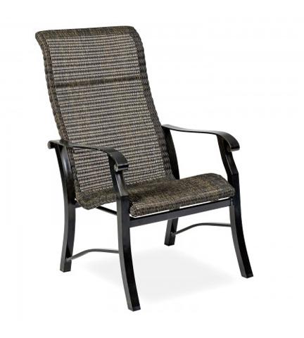 Woodard Company - Cortland Round Weave Dining Arm Chair - 5V0426